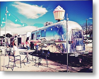 Stopping For A Treat Metal Print by Kristina Deane