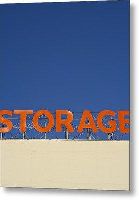 Storage Metal Print by Stuart Hicks