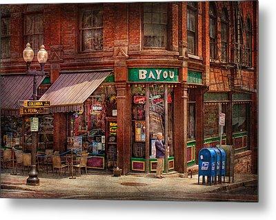 Store - Albany Ny -  The Bayou Metal Print by Mike Savad