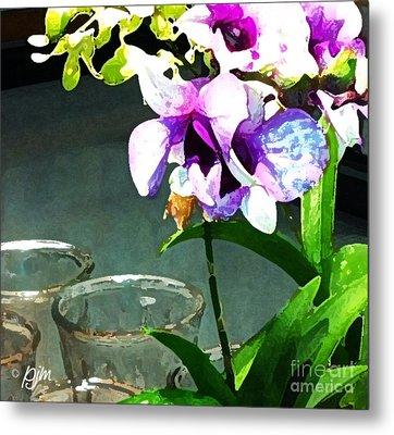 Metal Print featuring the photograph Store Bought Flowers by Phil Mancuso