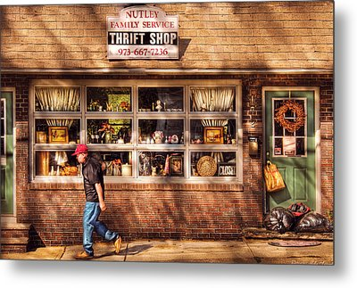 Store -  The Thrift Shop Metal Print by Mike Savad