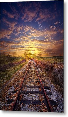 Stories To Be Told Metal Print by Phil Koch
