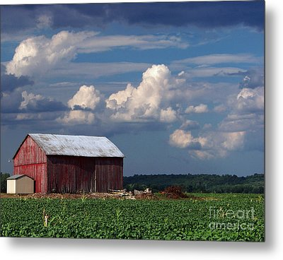 Metal Print featuring the photograph Storm Above by Gena Weiser
