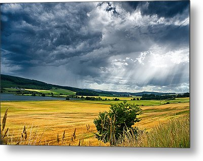 Storm And Sunbeams Metal Print by Jacqi Elmslie