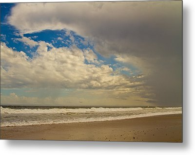 Storm Approaching Metal Print by Karol Livote