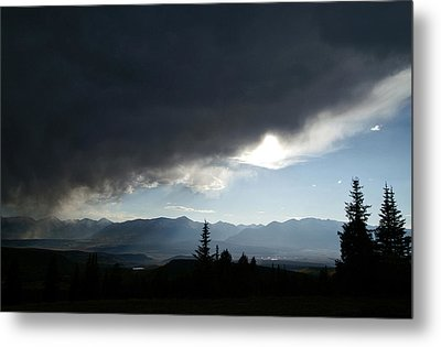 Storm Blows Over Metal Print by Jeremy Rhoades