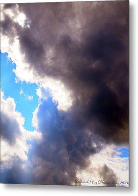 Storm Brewing Metal Print by Deborah Fay