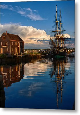 Storm Clearing Friendship Metal Print by Jeff Folger