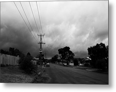 Metal Print featuring the photograph Storm Closing In  by Naomi Burgess