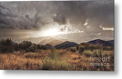 Storm Clouds Metal Print by Dianne Phelps