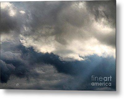 Storm Clouds Metal Print by J McCombie