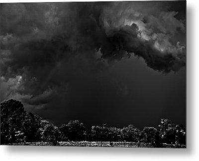 Storm Clouds Metal Print by Mark Alder