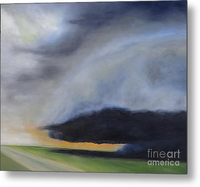 Storm Coming.. Metal Print by Barbara Anna Knauf