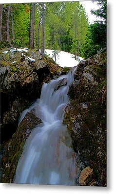 Metal Print featuring the photograph Storm Falls  by Kevin Bone