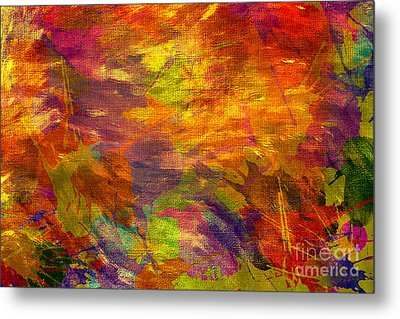 Storm In A Paint Pot Metal Print by Kaye Menner