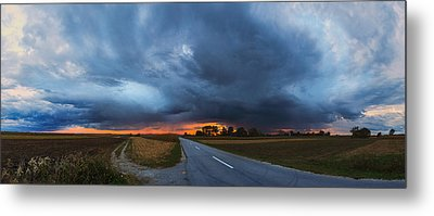 Storm Is Coming Metal Print by Davorin Mance