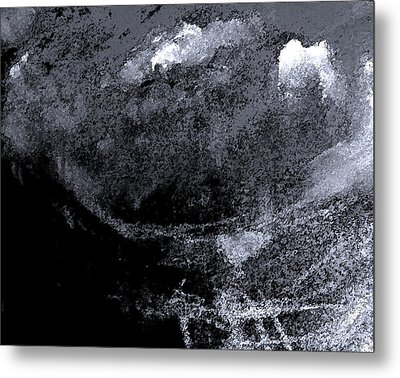Storm On Everest Metal Print by Lenore Senior