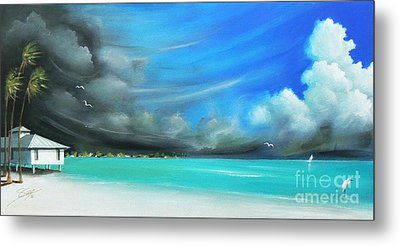 Storm On The Move Metal Print