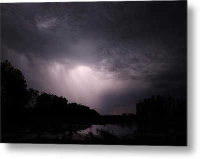 Metal Print featuring the photograph Storm Over Wroxton by Ryan Crouse