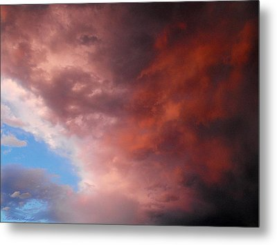Storm Metal Print by Paulina Roybal