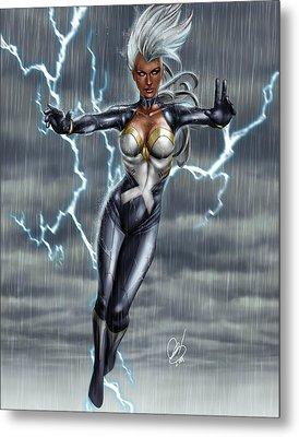 Storm Metal Print by Pete Tapang
