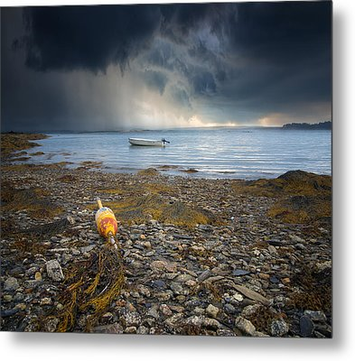 Storm Rolls In Metal Print by Darylann Leonard Photography