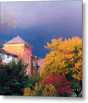 Metal Print featuring the photograph Storm Watch by The Art of Marsha Charlebois