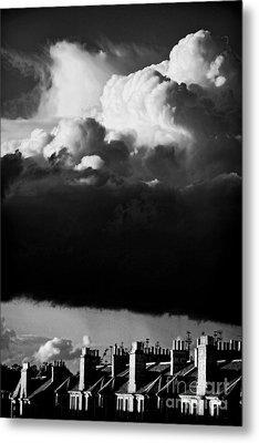 Stormclouds Approaching Metal Print by Craig B
