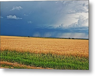 Storms On The Plains Metal Print by Jason Drake