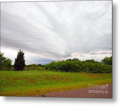 Stormy Cloud Metal Print by Mickey Harkins