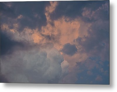 Stormy Clouds Viii Metal Print by Bradley Clay