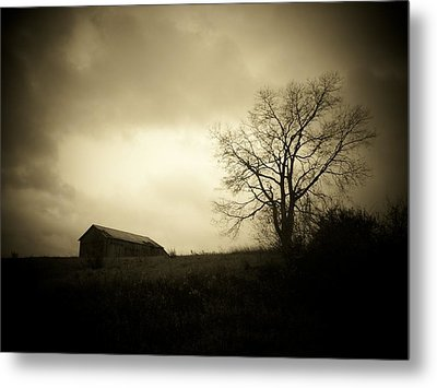 Stormy Day Metal Print by Michael L Kimble