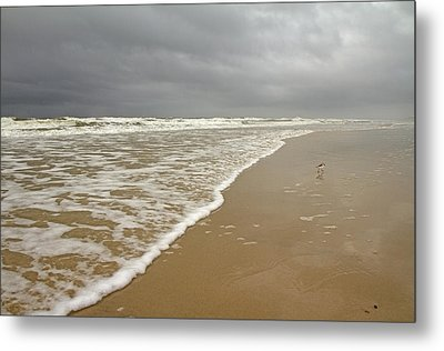 Stormy Day On Topsail Metal Print