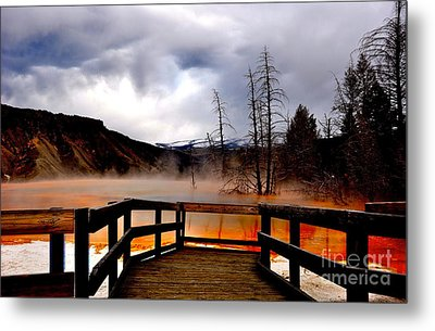 Stormy Days Metal Print by Birches Photography