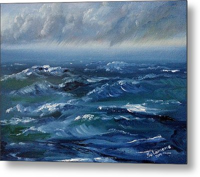 Stormy Monday Metal Print