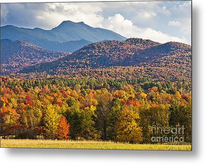 Stormy Mount Mansfield Metal Print by Alan L Graham