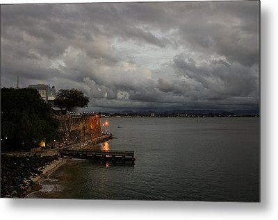 Metal Print featuring the photograph Stormy Puerto Rico  by Georgia Mizuleva