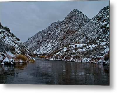 Metal Print featuring the photograph Stormy River by Atom Crawford