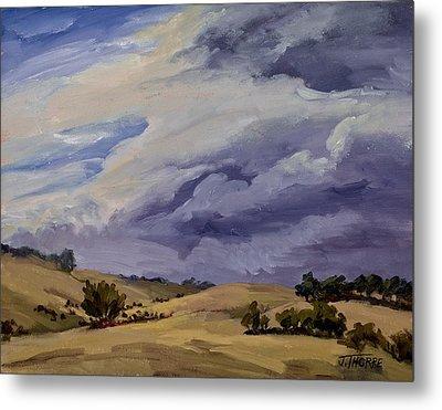 Stormy Skies Metal Print by Jane Thorpe