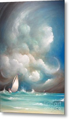 Stormy Sunday Metal Print by S G