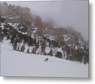 Metal Print featuring the photograph Stormy Thomas Canyon by Jenessa Rahn