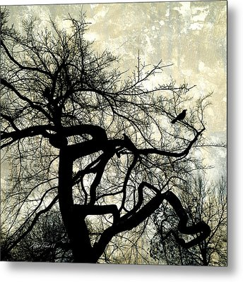 Stormy Weather  Metal Print by Ann Powell