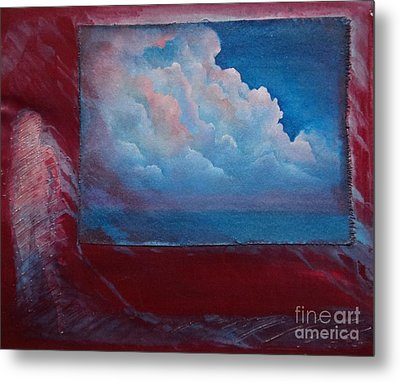 Stormy Weather Metal Print by Cynthia Vaught