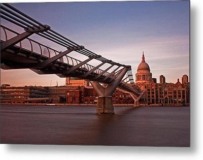 St.paul's From The South Bank Metal Print
