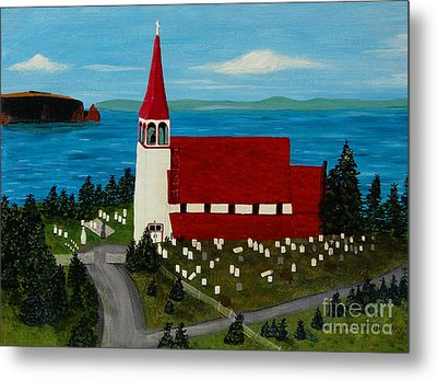 St.philip's Church 1999 Metal Print by Barbara Griffin