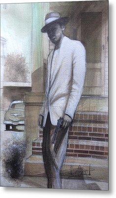Str8 Gangster Metal Print