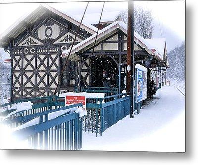 Strafford Station Metal Print by Ira Shander