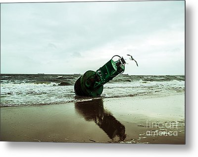 Metal Print featuring the photograph Stranded by Angela DeFrias