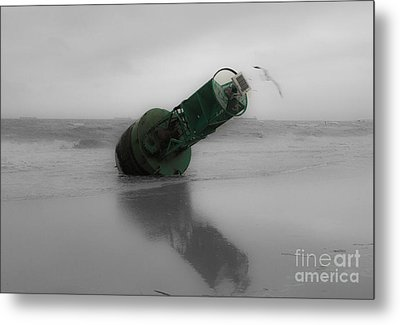 Metal Print featuring the photograph Stranded Too by Angela DeFrias