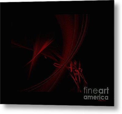 Strands  Of Time Metal Print by Amanda Collins